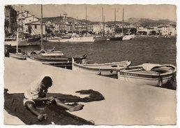 SANARY SUR MER--1961-Le Port Et Les Quais (animée,bateaux),cpsm 15 X 10 N°83.123.19 éd LA CIGOGNE---pas Très Courante - Sanary-sur-Mer