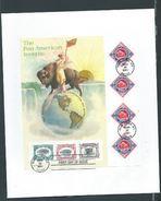 VERINIGTE STAATEN ETATS UNIS USA 2001 PAN-AMERICA INVERTS SHEET FDC SC 3505 YV 3193-3196 MI B57-3445-48 SG 3974 - Blocs-feuillets