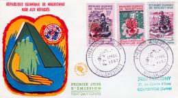 Mauritania, Aid To Refugees, 1962, FDC Cover VF Scarce - Mauritania (1960-...)
