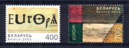 Belarus - 2003 - Europa/Poster Art - MNH - Belarus
