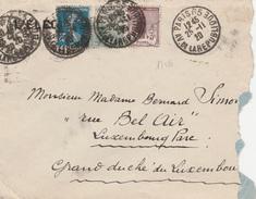 17581# ORPHELIN LETTRE Obl PARIS 65 AV. DE LA REPUBLIQUE 1920 Pour GRAND DUCHE DE LUXEMBOURG - Marcophilie (Lettres)