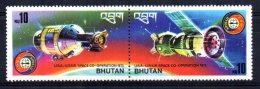 "Bhutan - 1976 - ""Apollo-Soyuz"" Space Link - MNH - Bhoutan"