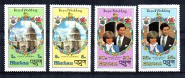 Bhutan - 1981 - Royal Wedding Prince Charles & Diana - MNH - Bhutan
