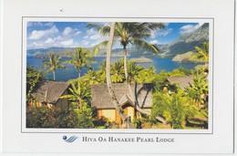 Hiva Oa Hanakee Pearl Lodge, Papeete, Tahiti, Unused Postcard [20039] - Tahiti