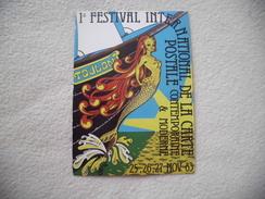 BELLE ILLUSTRATION...1ER FESTIVAL DE LA CARTE POSTALE ..TOULON 1983..SIGNE J.TONI - Bourses & Salons De Collections
