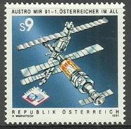 Austria - 1991 Austro Mir 91 MNH **    Yv 1869  Sc 1547 - 1991-00 Nuovi & Linguelle