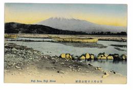 CPA JAPON FUJI FROM FUJI RIVER - Yokohama