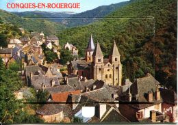 N°53613 GF-carte à Système De Conques En Rouergue - Cartoline Con Meccanismi