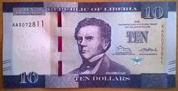 Liberia - 10 Dollars - 2016 - PICK 32a - NEUF - Liberia