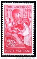 PIA - VATICANO  - 1955  :  500° Della Morte Di Fra Angelico  -  (SAS  195-96  = S 48) - Vatican