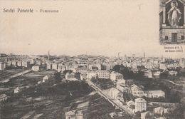 11334) GENOVA SESTRI PONENTE PANORAMA N.s.DEL GAZZO BELLISSIMA E RARA NON VIAGGIATA - Genova (Genoa)