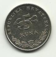 2007 - Croazia 5 Kuna, - Croazia