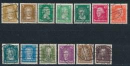 Duitse Rijk/German Empire/Empire Allemand/Deutsche Reich 1926 Mi: 385-397 Yt: 379-389 (Gebr/used/obl/o)(2302) - Duitsland