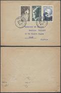 A401 France Lettre De Paris à Orna ( Algérie Algeria )  1951 - Storia Postale