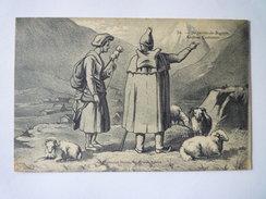 BAGNERES-de-BIGORRE  (Hautes-Pyrénées)  :  Anciens Costumes   - Bagneres De Bigorre