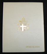 [NC] VATICANO -  GIOVANNI PAOLO II SERIE DIVISIONALE 1984 ANNO VI - FDC UNC - Vaticano