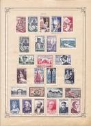 France Collection Vendue Page Par Page - Timbres Neufs **/* / Oblitérés - Petit Prix - Francia