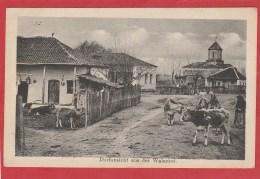 CPA: Roumanie - Dorfansicht Aus Der Walachei - Roumanie