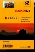 Folienblatt Bund Nr. 59 Sächsische Schweiz Schrammsteine Postfr.MNH ** - [7] West-Duitsland