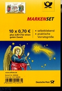 Folienblatt Bund Nr. 60 Weihnachten Verkündigung Postfr.MNH ** - [7] West-Duitsland