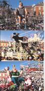 CP Carnaval De NIce 3ème Millénaire Et 1999 A D A G P - Carnaval