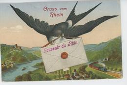 ALLEMAGNE - Gruss Vom RHEIN - Vues Multiples MAINZ - KÖLN - BONN...- 10 Ansichten - Mainz