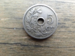 Belgique  5  Centimes Fl  1905  Km 55 - 1865-1909: Leopold II