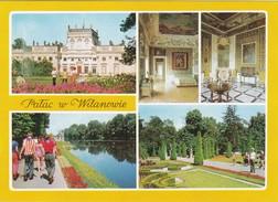 Cartolina - Postcard    - POLONIA -WARSZAWA - PALAC WILANOWIE - Polonia
