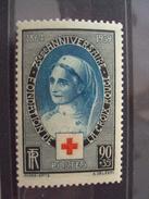 1939-75 ème Anniversaire Croix Rouge, N° 422- Neuf, Cote 17 Net 5.5 - France