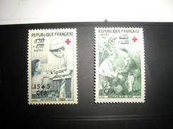REUNION  1966  NEUF*/**  Croix-Rouge - La Isla De La Reunion (1852-1975)