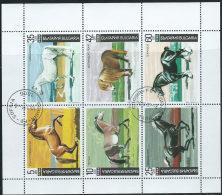 Bulgaria 1991 Usato - Mi.3903/8  Yv.3373/8  Minifoglio - Bulgaria
