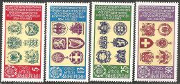 Bulgaria 1982 Nuovo** - Mi.3174/7  Yv .2771/4 - Nuovi