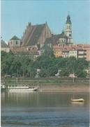 Cartolina - Postcard    - POLONIA -WARSZAWA - STARE MIASTO WIDOK NA KATEDRE I KOSCIOL JEZUITO'W - Polonia