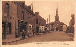 ¤¤  -   6   -   LIGNE    -  La Grande-Rue Et L'Eglise      -  ¤¤ - Ligné