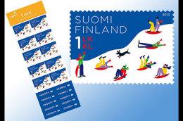 Finland 2013 Sheetlets - Sledging