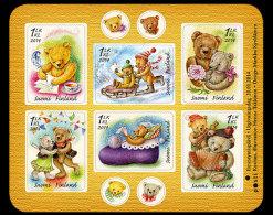 Finland 2014 Sheetlets - Teddy Bears