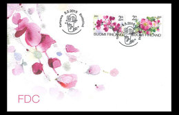 Finland 2015 First Day Cover - Floral Beauty