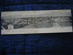 1903  PISA   PANORAMA  (SU DUE CARTOLINE) - Pisa