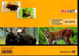 Folienblatt Bund Nr. 21 Heimische Wildtiere Postfr.MNH ** - [7] West-Duitsland