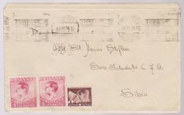 COVER CIRCULATED BUCURESTI -SIBIU  1938 - Cartas