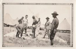 17605# PHOTOGRAPHIE MEMBERS OF WATONGA UNIT OF THE NATIONAL GUARDS AT TRAINING LAST AUGUST OKLAHOMA ETATS UNIS USA - Etats-Unis