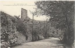 D 83. BRUE AURIAC. N 821.  PIGEONNIER ET ENTREE DU VILLAGE - France