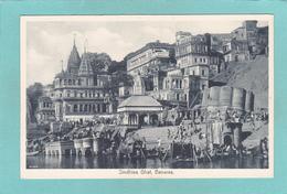 Old Postcard Of Sindhiea Ghat,Benares,Varanasi, Uttar Pradesh, India,R34. - India