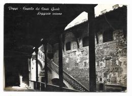 POPPI CASTELLO DEI CONTI GUIDI - LOGGIATO INTERNO  VIAGGIATA  FG - Arezzo