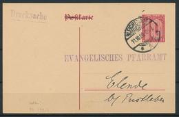 D. Reich - Dienst-Ganzsache P 4 ~ Michel 90,00 Euro - Ganzsachen