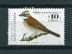 2003 Chili Birds,oiseaux,vögel,vogels Used/gebruikt/oblitere - Chili