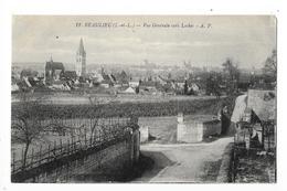 BEAULIEU  (cpa 37)  Vue Générale Vers LOCHES -     - L 1 - Other Municipalities