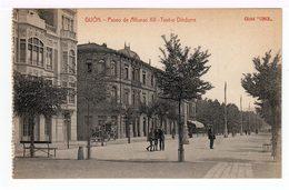 Gijon. Cours Alphonse XII. Théatre Dindurra. (1483) - Asturias (Oviedo)