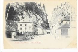 Frontière Franco-Suisse  (cpa 25)  Le Col Des Roches -     - L 1 - Andere Gemeenten