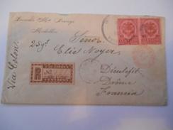 COLOMBIE - Env Recommandée Medellin Pour La France - Nov 1895 - P21441 - Colombie